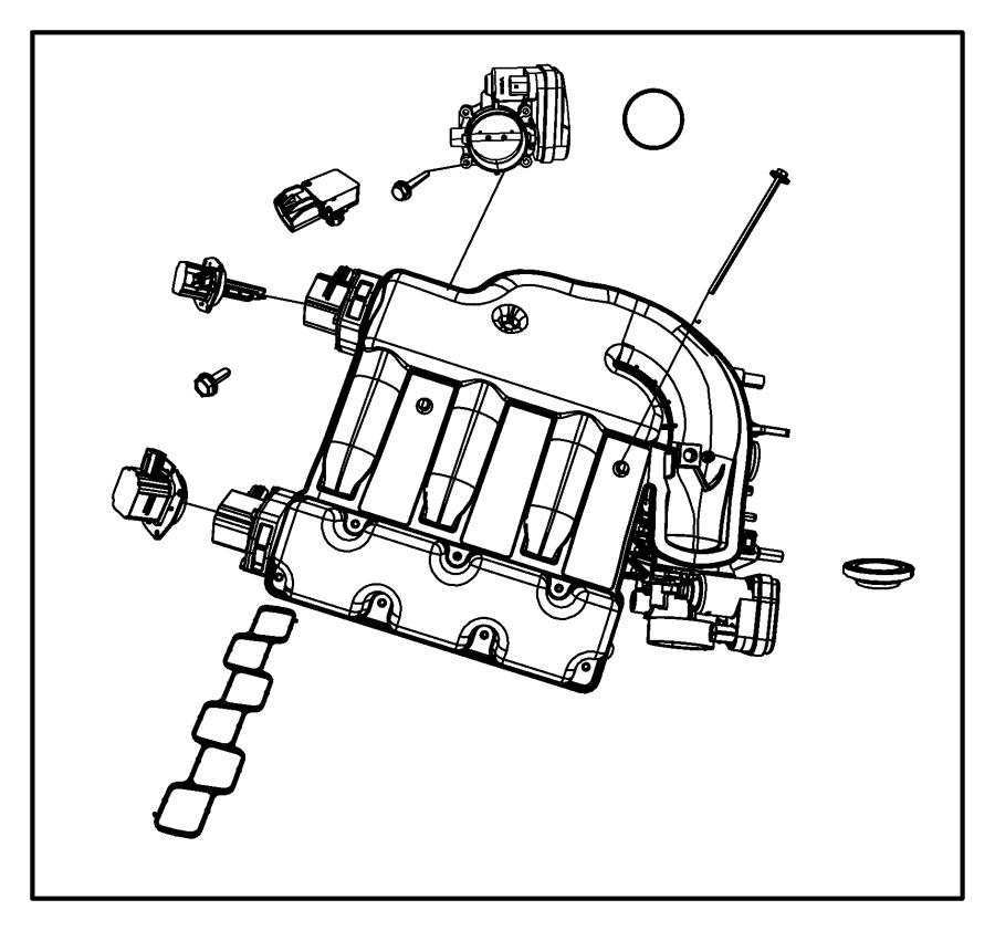 dodge journey actuator  intake short running valve