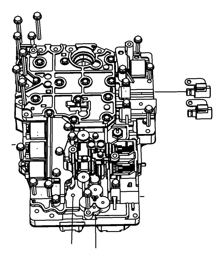 2009 Dodge Solenoid  Transmission