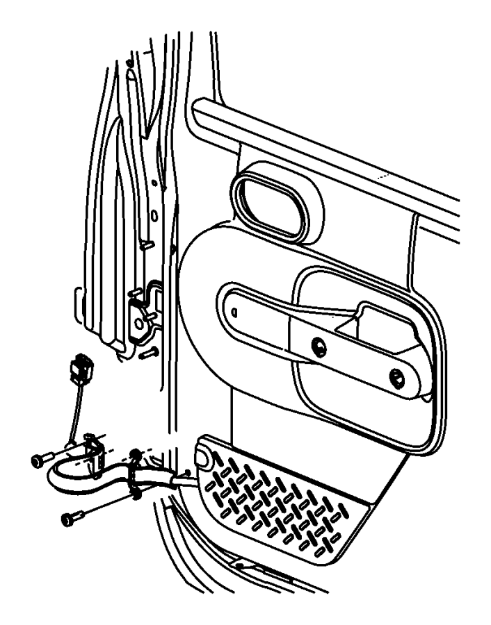 Dodge Ram 2500 Screw  Pan Head  M6x1x20   Do Not Use