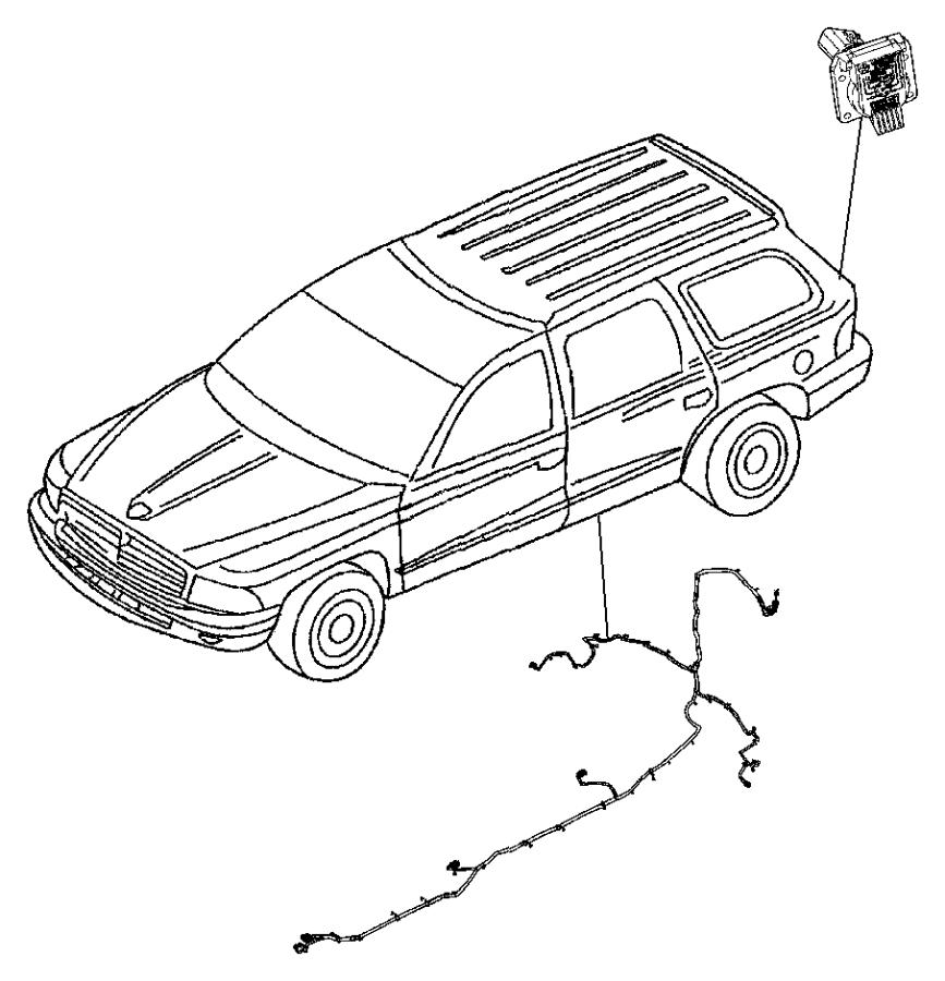2017 Jeep Cherokee Connector  7 Way  Addl  Equip  Reqd
