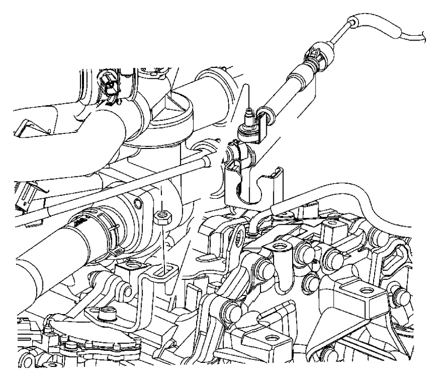 Jeep Wrangler Clip  Retainer  Transfer Case Shift Cable