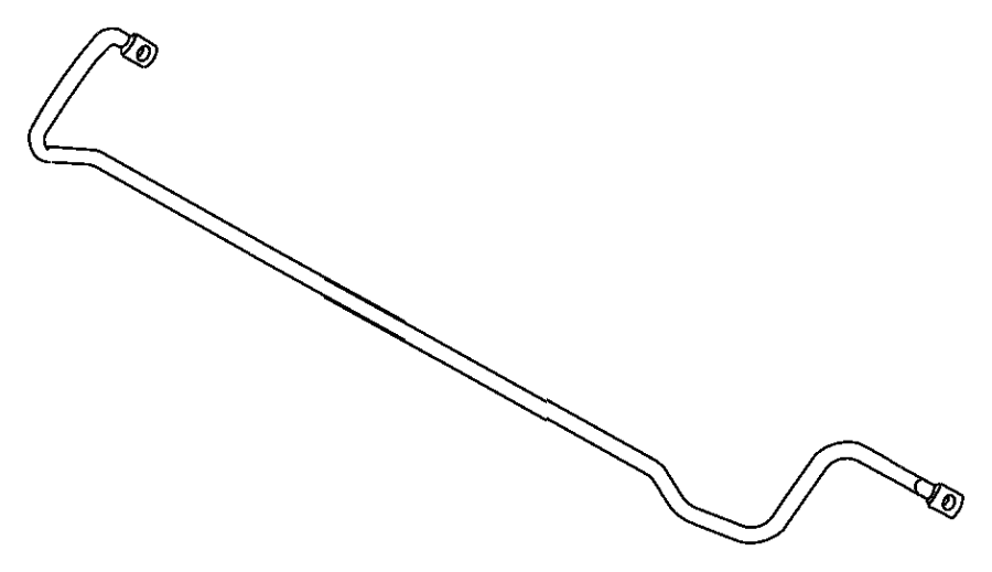 Charger sway bar rear for Suspension sdb