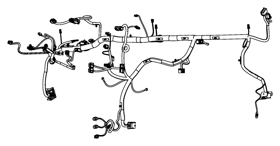 Chrysler Town  U0026 Country Wiring  Instrument Panel