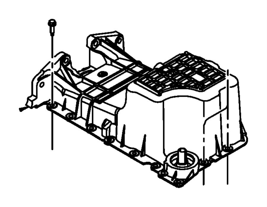 engine oil cooler  oil filter and coolant tubes 4 0l  4 0l
