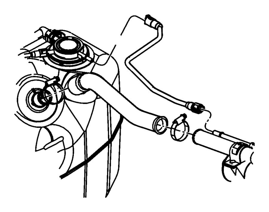 Dodge Ram 1500 Tube. Fuel vapor recirculation - 55398296AA ...