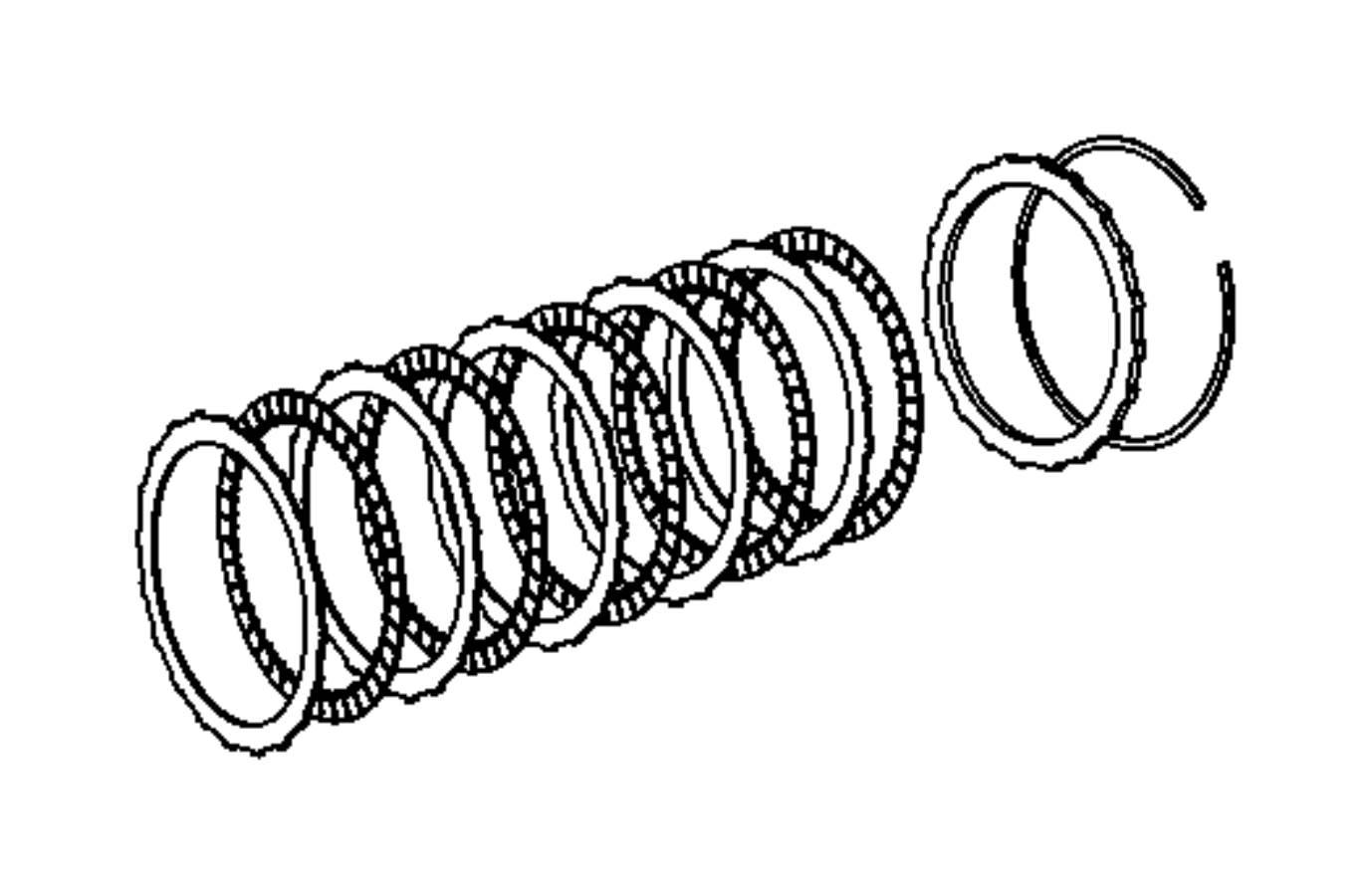 Ram 4500 Snap Ring  Cltuch