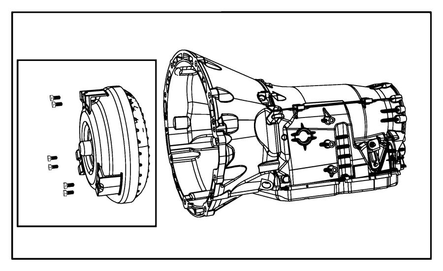dodge charger transmission kit  with torque converter