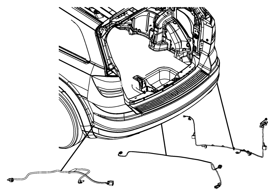 68049972aa Mopar Wiring Trailer Tow Mopar Parts Overstock