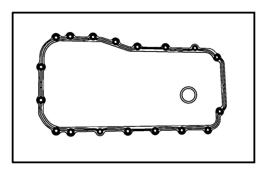 2007 jeep wrangler unlimited x 3 8l v6 a  t 4x4 gasket
