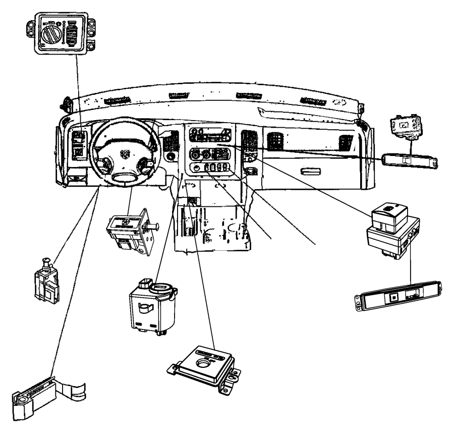Seat Switch Schaltplang