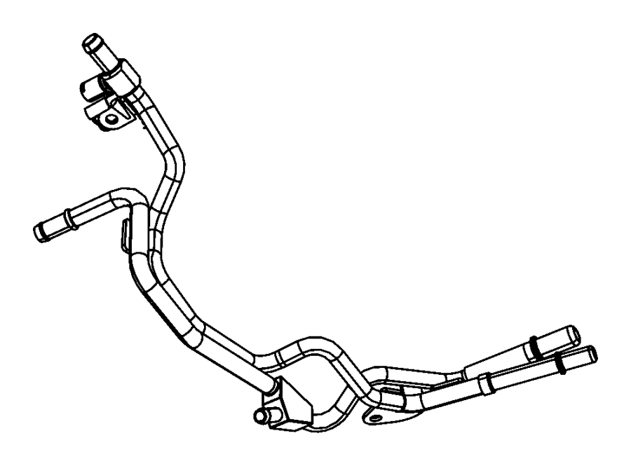 Jeep Grand Cherokee Line  Fuel  Includes T Fitting