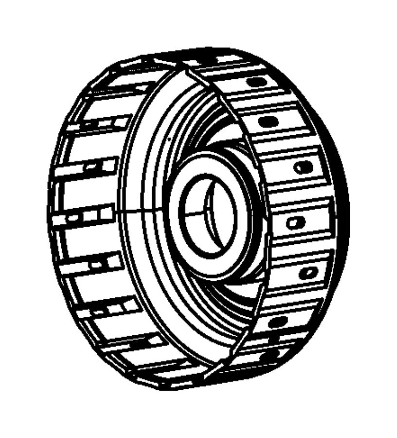 Dodge Ram 5500 Retainer  Clutch  Cltuch