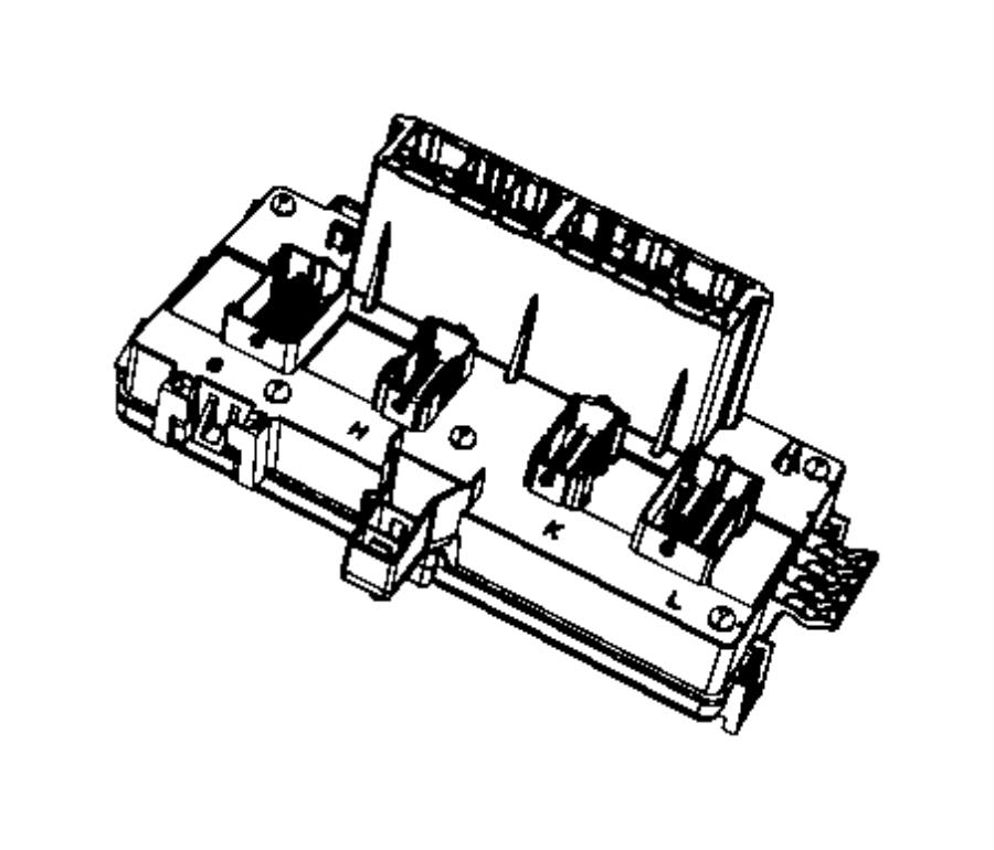 Rl692319aj Mopar Module Totally Integrated Power