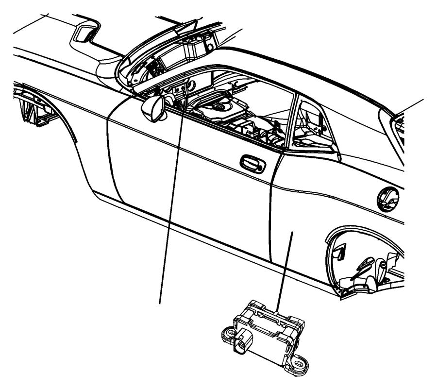2010 dodge grand caravan module  sensor  dynamics