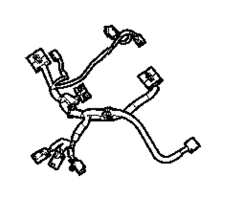 Ram Laramie Wiring  Power Seat   Power 6