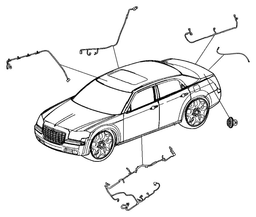 Chrysler 300 Wiring  Body   Power Tilt  Telescope Steering Column