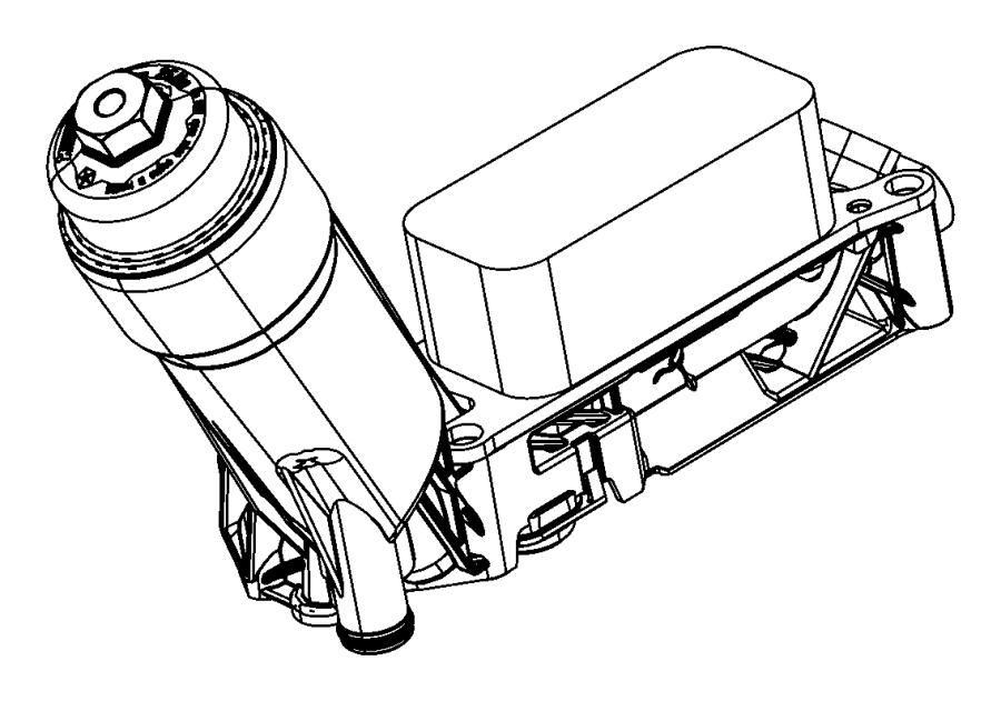 chrysler 300 c adapter  engine oil filter   engine oil