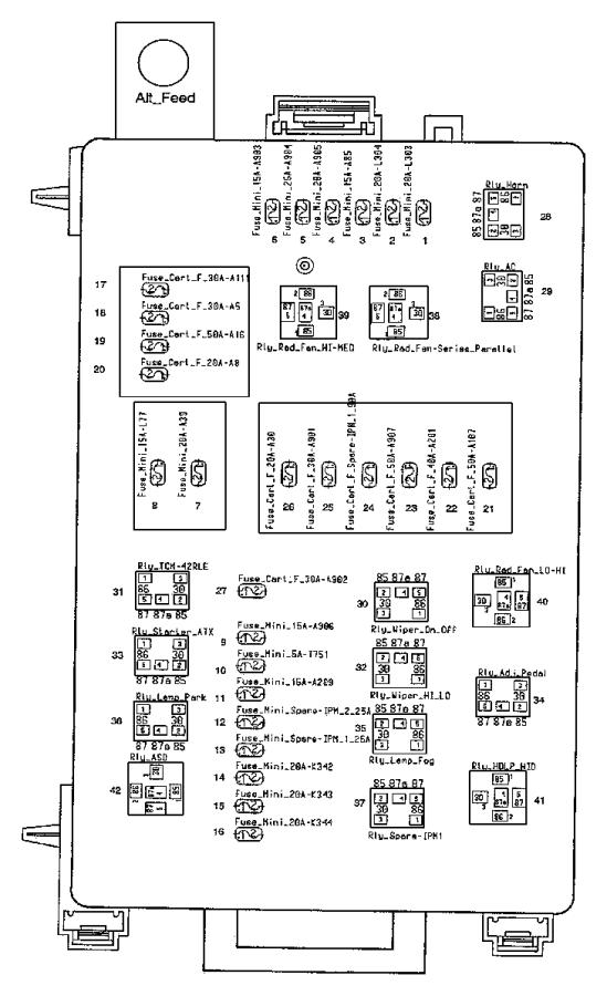 chrysler 300 fuse export j case 30 amp hlamps. Black Bedroom Furniture Sets. Home Design Ideas