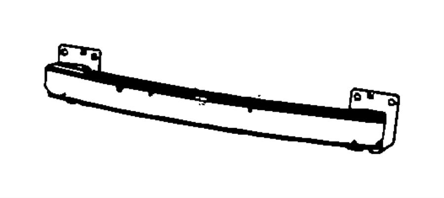 Ram C  V Reinforcement  Front Bumper
