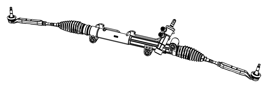 Charger gear rack and pinion for Suspension sdb