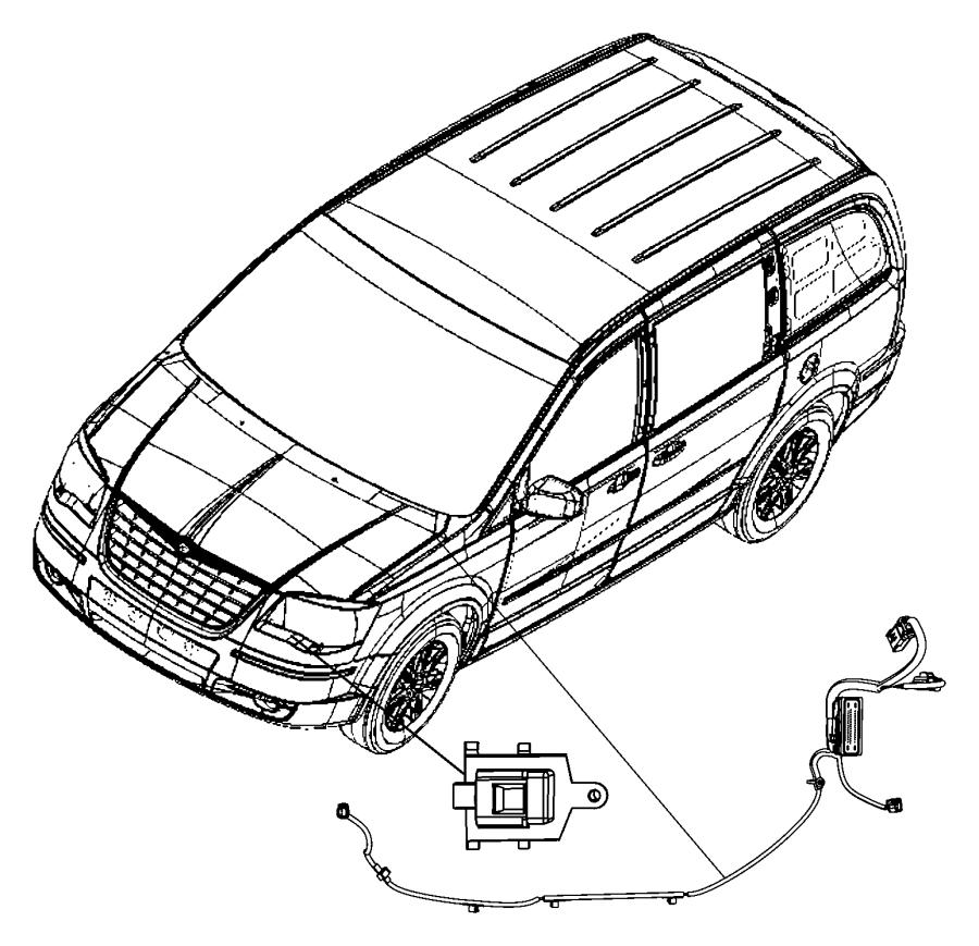 Dodge Grand Caravan Wiring  Abs  Esp Harness  Up To 03  28