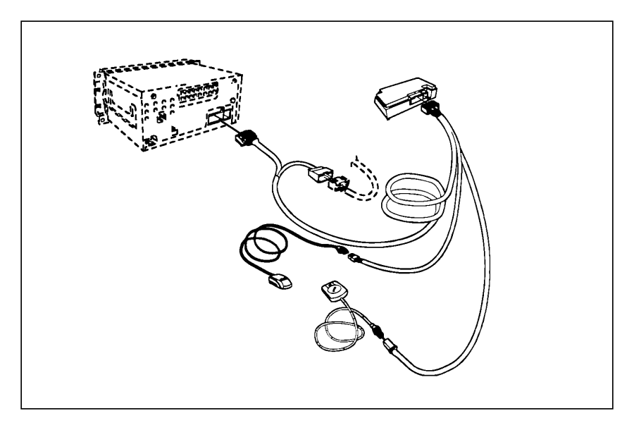 68002646AB on Ram Uconnect Microphone Kit