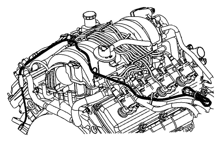 Dodge Challenger Cord  Engine Block Heater