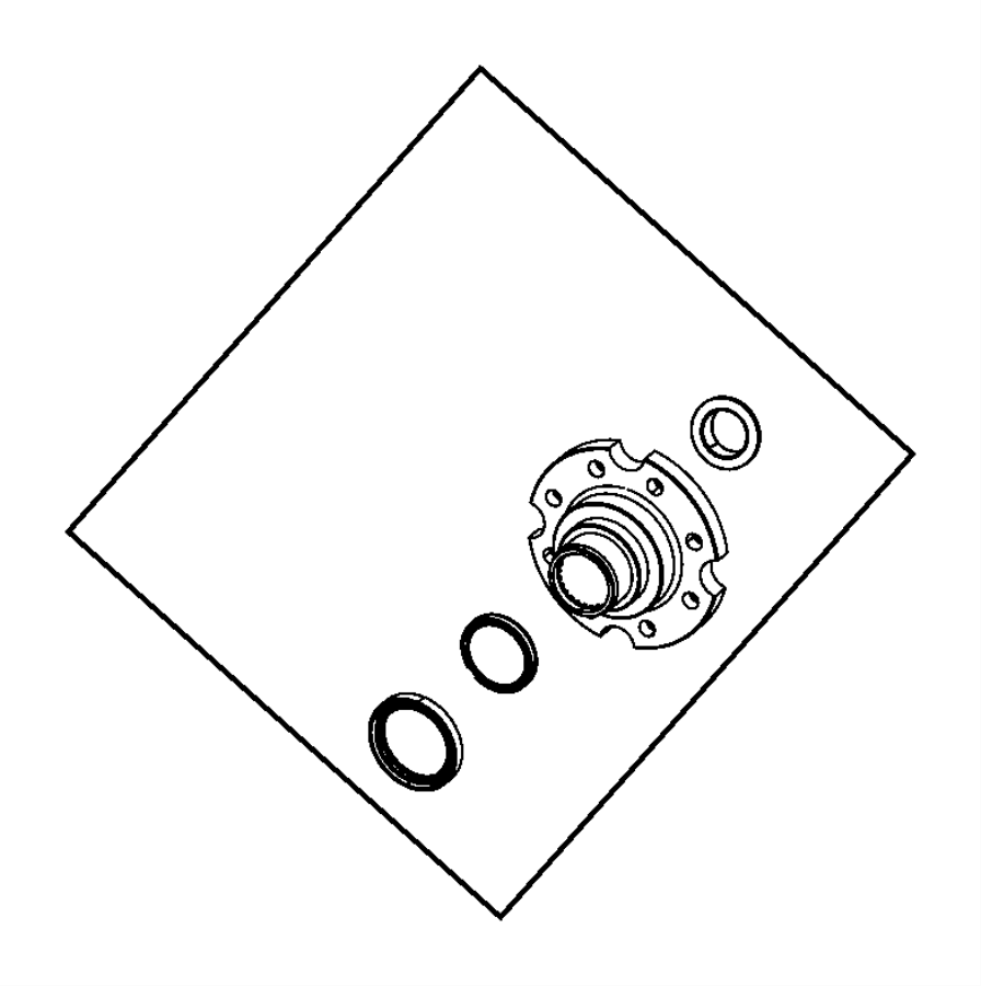 ram 5500 nut  output shaft