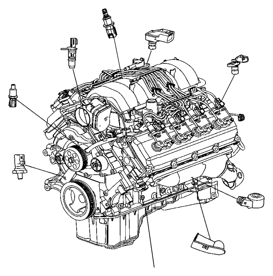Dodge Grand Caravan Sensor  Knock
