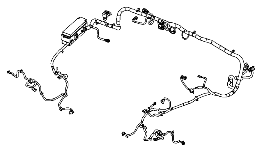 Jeep Wrangler Wiring  Dash  Shalee