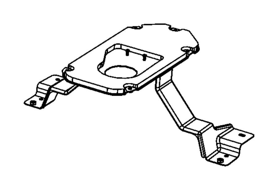 68085875ac Mopar Plate Transmission Shifter Mopar