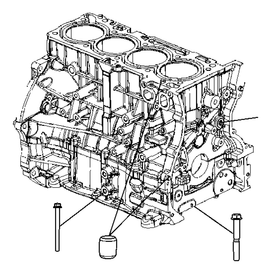 2016 Jeep Compass Engine  Long Block  Remanufactured