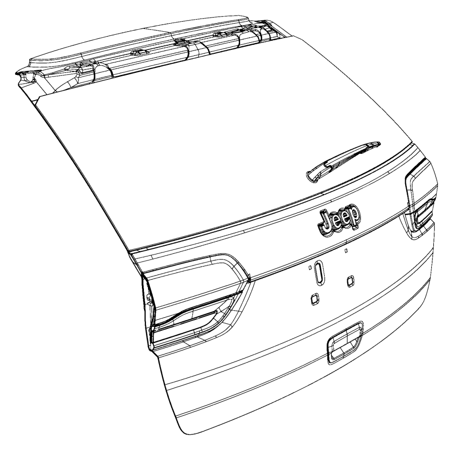 2015 Jeep Grand Cherokee Panel  Liftgate