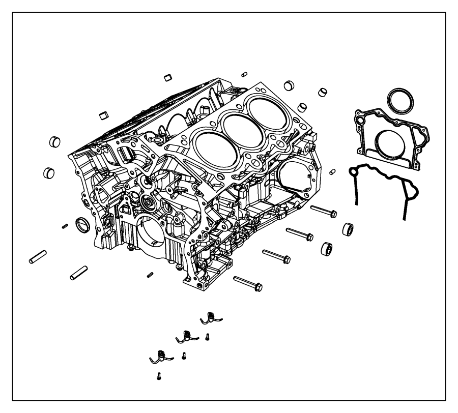 2015 Jeep Cherokee Engine  Complete  Systemoff  Coolerstopstart  Cooleroff