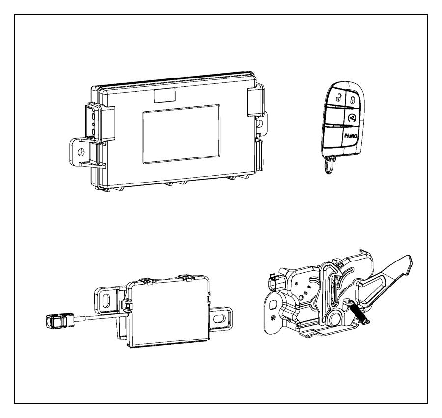 2014 dodge charger receiver  hub  systemgrayb  wimmobilizergrayb  gokeyless