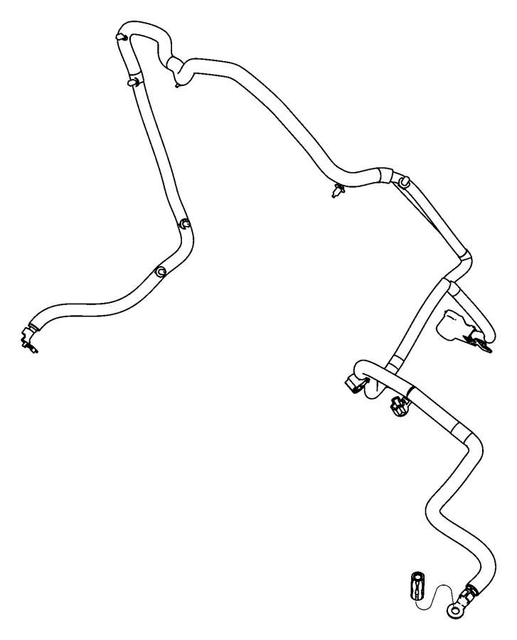 Dodge Durango Wiring  Alternator Starter Power