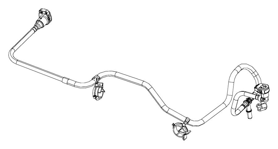 68189075AE - Jeep Hose. Purge | Mopar Parts Overstock