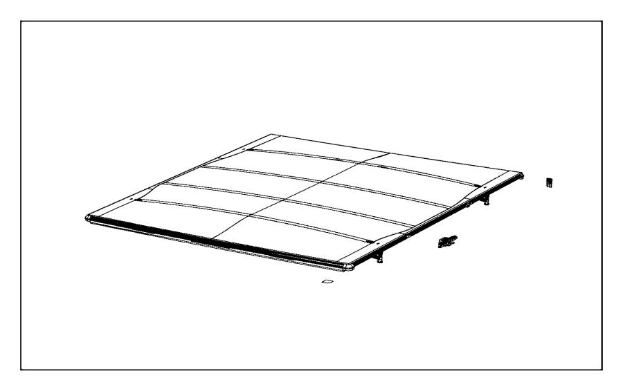 2013 dodge ram 1500 hinge  tonneau cover  systemsingle