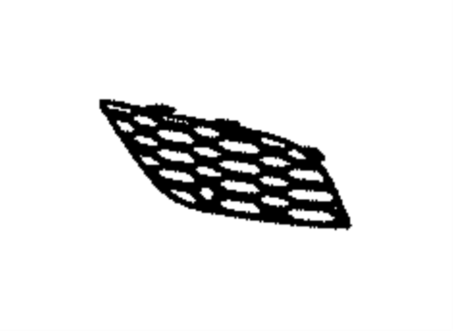 Jeep Grand Cherokee Grille  Lower