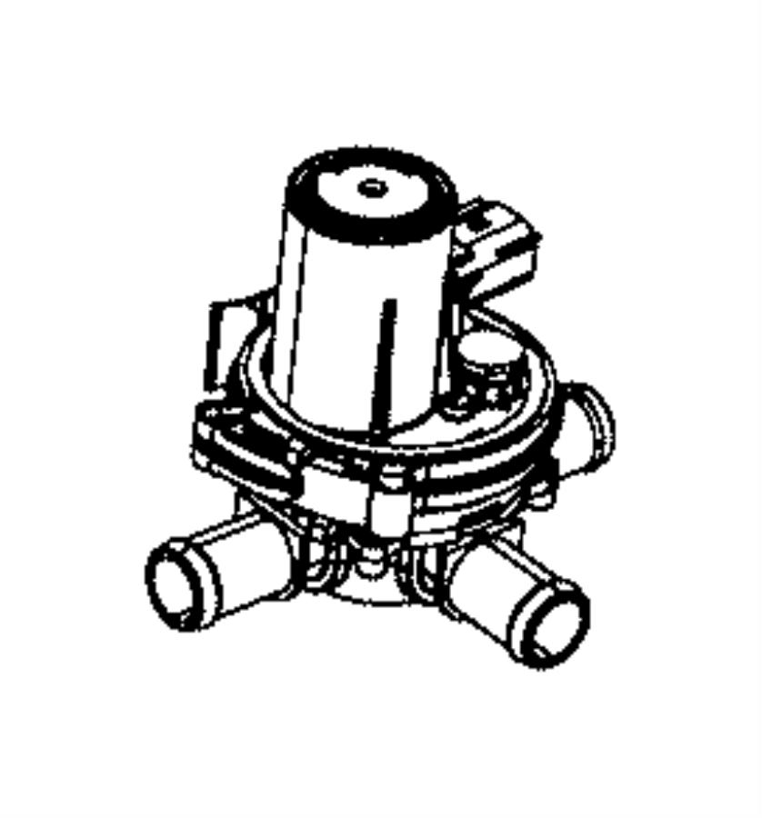 ram 1500 valve  coolant 3 way