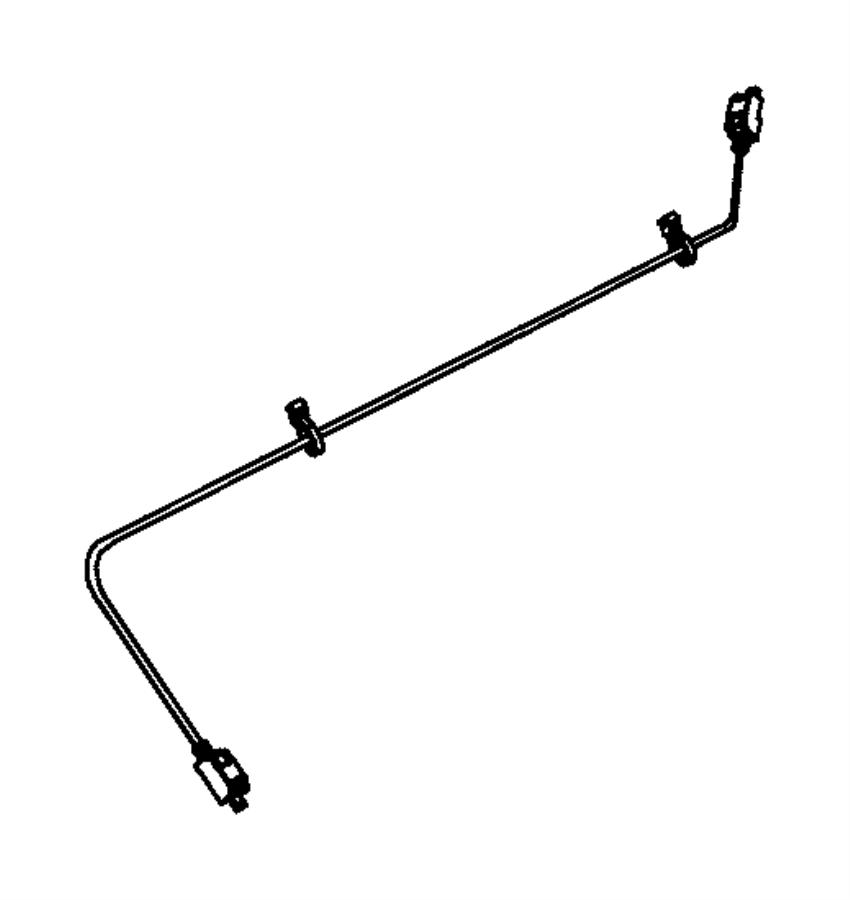 Jeep Wrangler Wiring  Jumper  Telematics Module