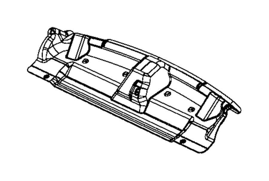 2015 Dodge Silencer  Rear Shelf