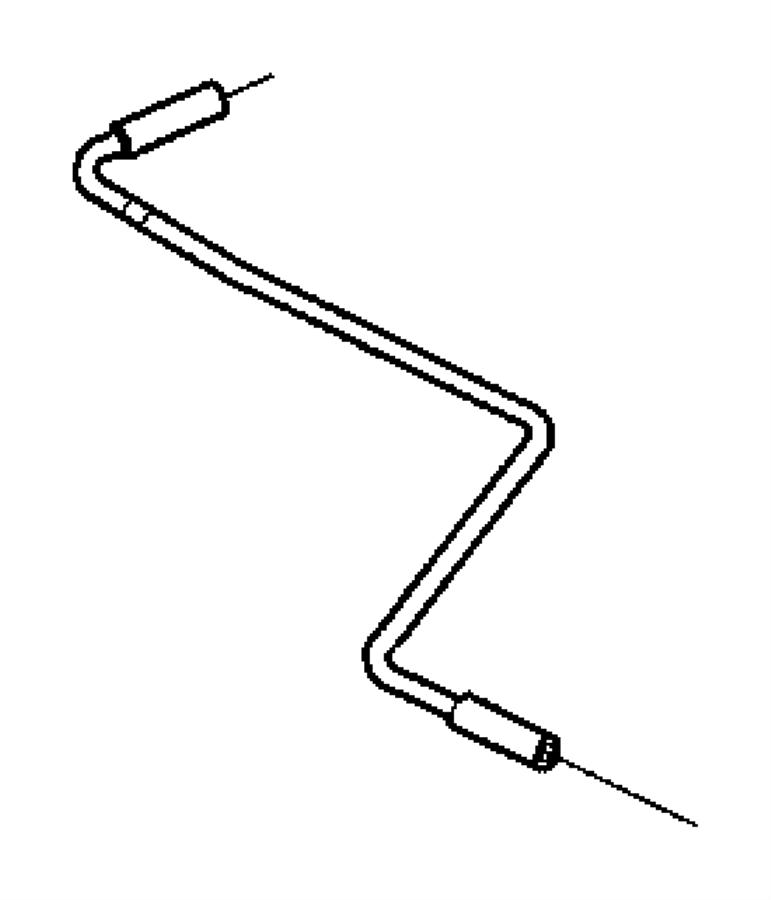 53032617ad Mopar Tube Crankcase Vent To Intake Manifold