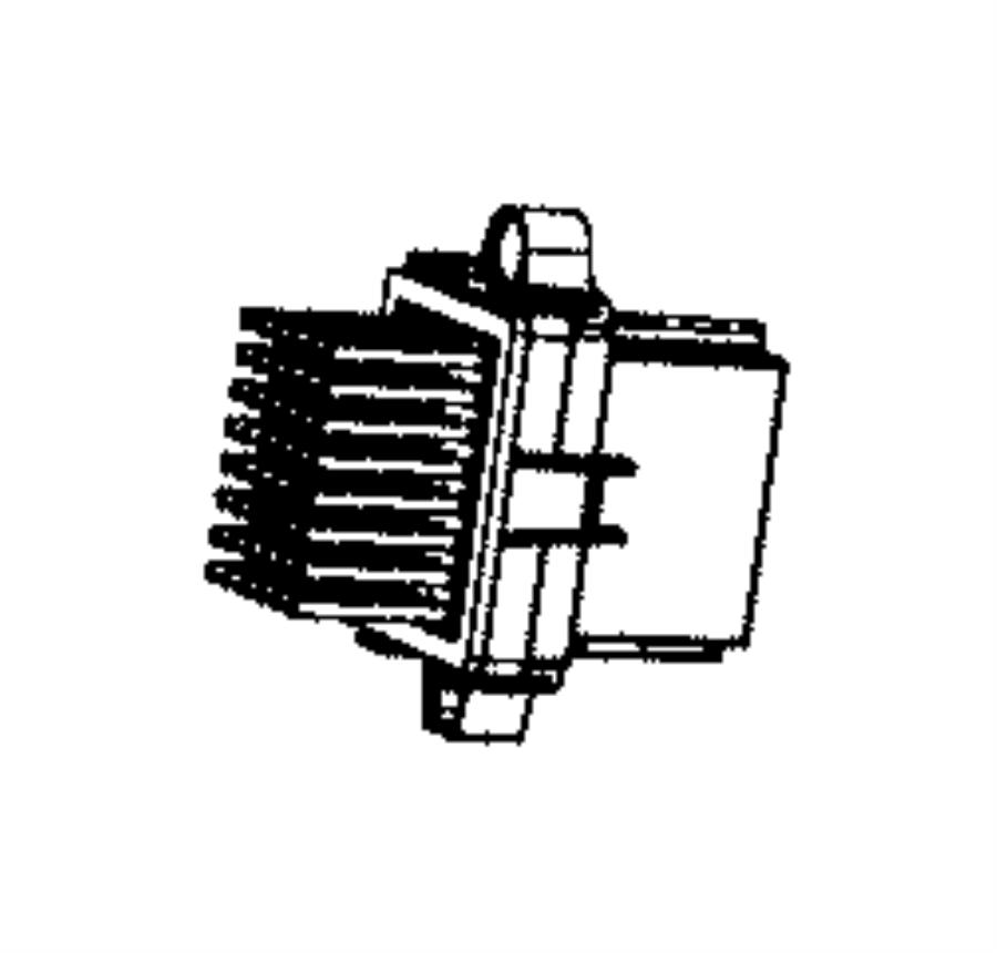 chrysler pacifica blower motor power module