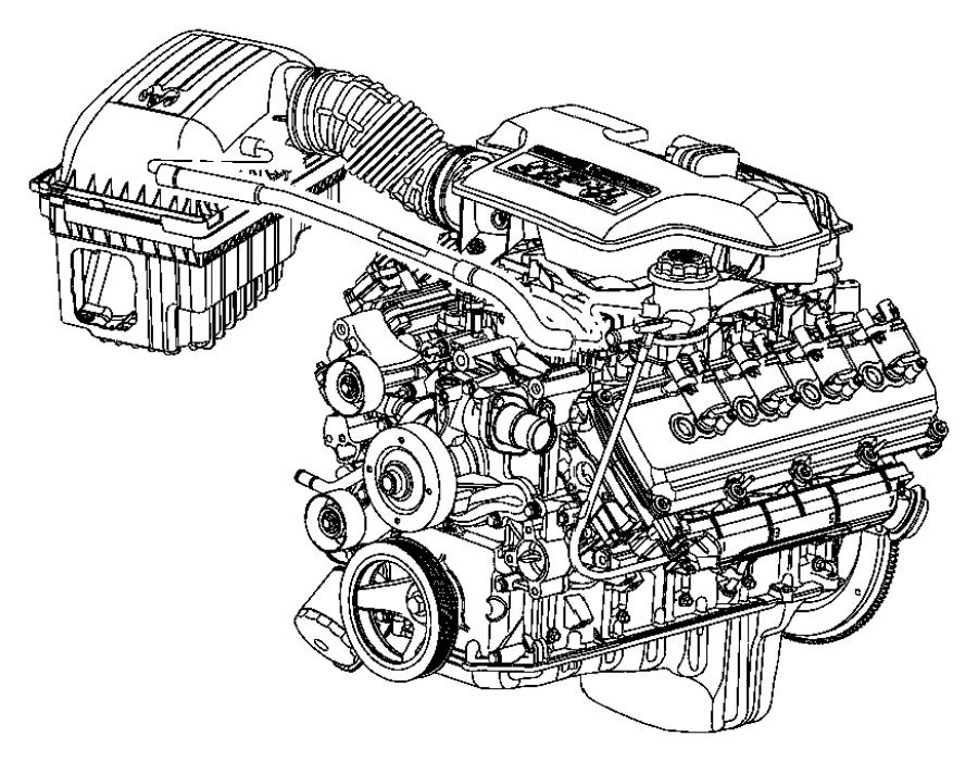 Dodge Ram 1500 Hose  Crankcase Vent