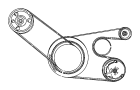 PULLEY. Idler. image for your 1988