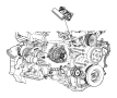 BRACKET. Alternator. image