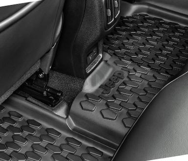 2019 Jeep Compass These All Weather Floor Mats Are A