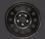 WHEEL. Steel. Spare.  [TBB] Full Size Spare. image for your 2005 Dodge Viper SRT10 COUPE 8.3L V10