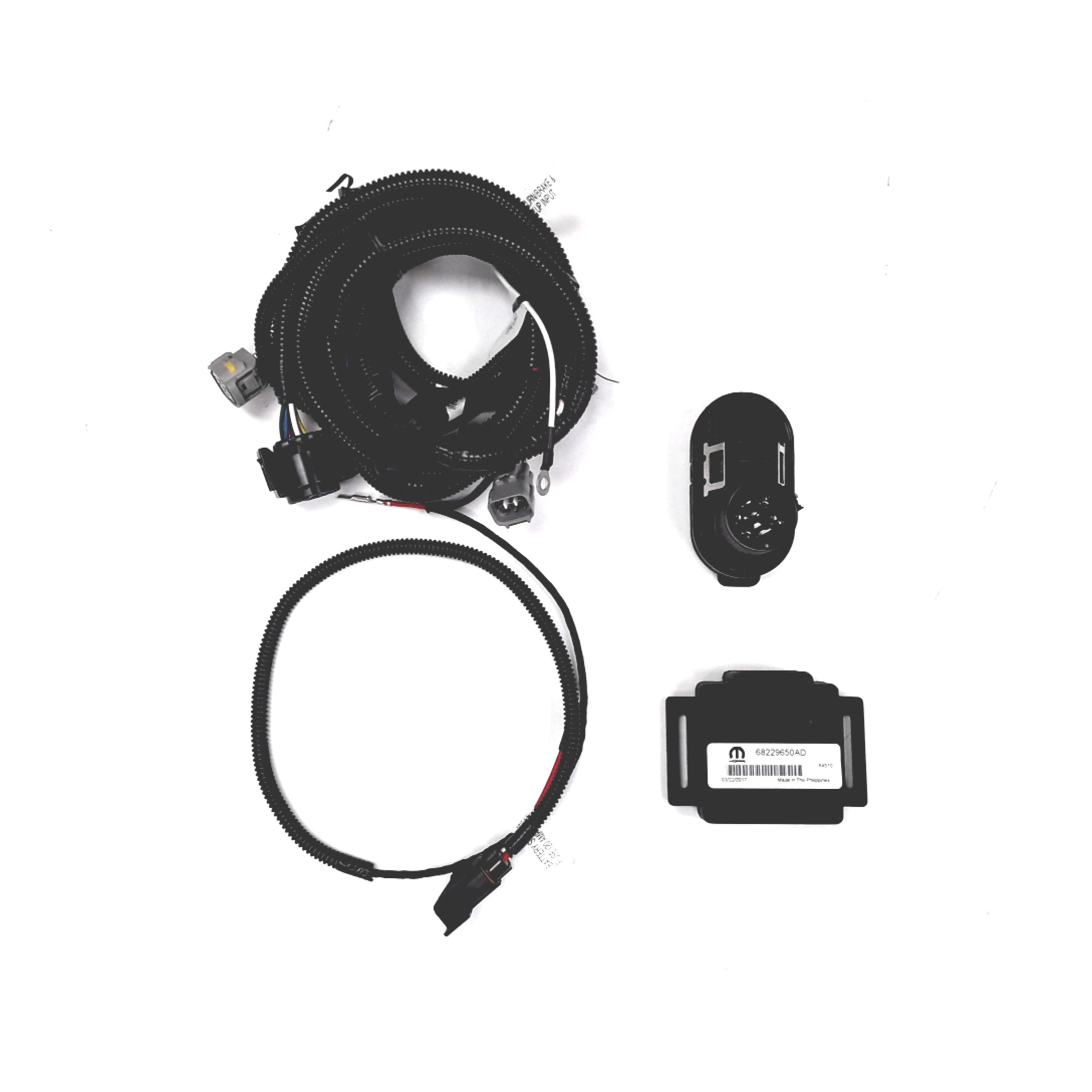 2016 Jeep Cherokee Trailer Tow Wiring Harness  Includes